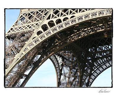 Photograph - Eiffel Tower Detail by Diana Haronis