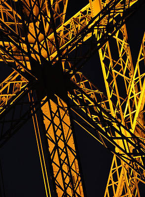 Photograph - Eiffel Tower Detail by Michael Kirk