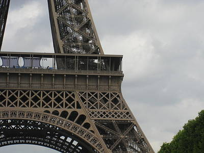 Eiffel Tower Detail Art Print by Stephanie Hunter