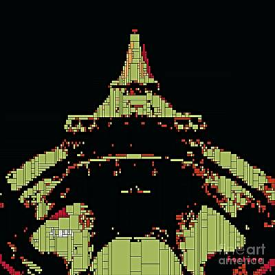 Love Digital Art - Eiffel Tower by Dragica  Micki Fortuna