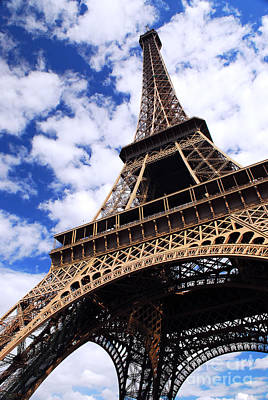 Perspective Photograph - Eiffel Tower by Elena Elisseeva