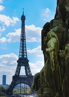 Photograph - Eiffel Tower From Palais De Chaillot by Veli Bariskan