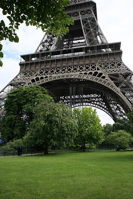 Photograph - Eiffel Tower I by Gladys Turner Scheytt