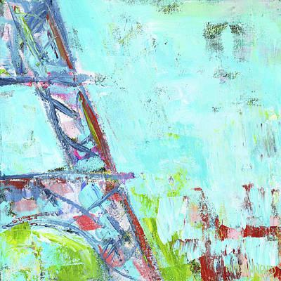 Paris Painting - Eiffel Tower I by Pamela J. Wingard
