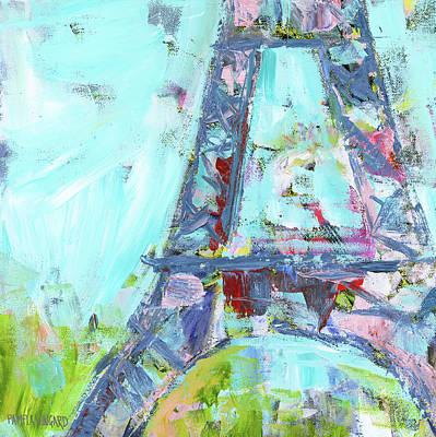 Paris Painting - Eiffel Tower IIi by Pamela J. Wingard