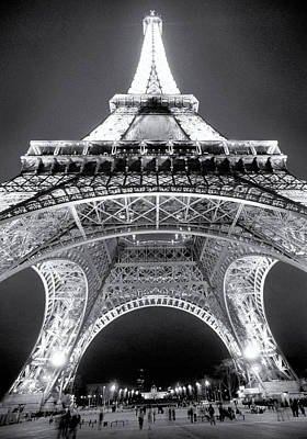 Eiffel Tower Art Print by John Gusky