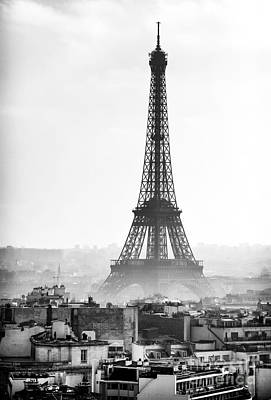Photograph - Eiffel Tower by John Rizzuto