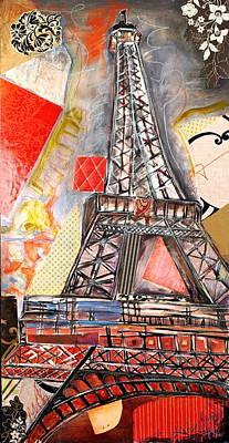 Eiffel Tower Art Print