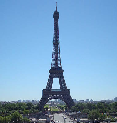 Art Print featuring the photograph Eiffel Tower by Kay Gilley