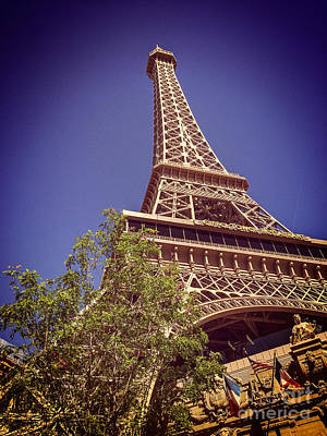 Photograph - Eiffel Tower Las Vegas by Colin and Linda McKie