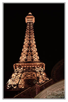 Photograph - Eiffel Tower Light Up My Dreams by Teri Brown