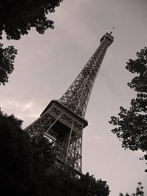 Photograph - Eiffel Tower by Nop Briex