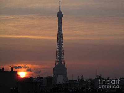 Photograph - Eiffel Tower, Paris by Catherine Ursillo