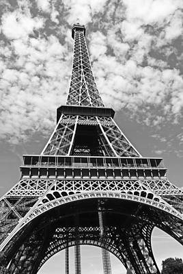 Eiffel Tower Paris Art Print by Gallery Of Modern Art
