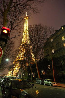 Eiffel Tower - Paris France - 011317 Art Print by DC Photographer