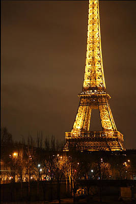Eiffel Tower - Paris France - 011320 Art Print by DC Photographer