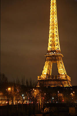 Eiffel Tower - Paris France - 011322 Art Print