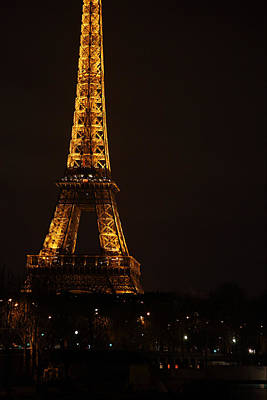 Eiffel Tower - Paris France - 011325 Art Print