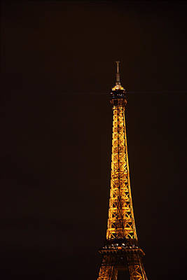 Eiffel Tower - Paris France - 011327 Art Print
