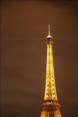 Eiffel Tower - Paris France - 011328 Art Print by DC Photographer