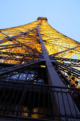 Eiffel Tower - Paris France - 01133 Art Print by DC Photographer