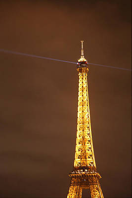 Steel Photograph - Eiffel Tower - Paris France - 011330 by DC Photographer