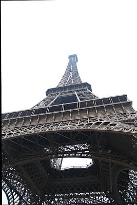 Tower Photograph - Eiffel Tower - Paris France - 01134 by DC Photographer