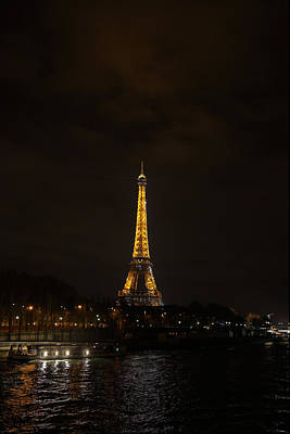 Steel Photograph - Eiffel Tower - Paris France - 011341 by DC Photographer