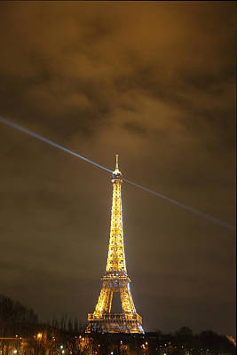 Eiffel Tower - Paris France - 011346 Art Print