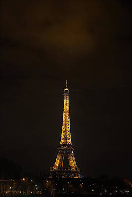 Eiffel Tower - Paris France - 011350 Art Print by DC Photographer