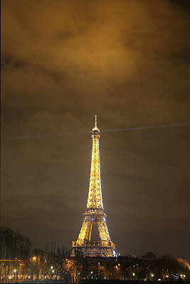 Eiffel Tower - Paris France - 011352 Art Print