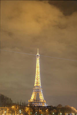 International Photograph - Eiffel Tower - Paris France - 011354 by DC Photographer