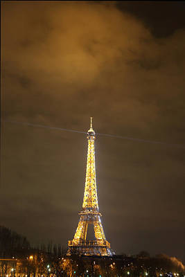 Eiffel Tower - Paris France - 011355 Art Print