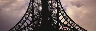 Metal Fabrication Photograph - Eiffel Tower Paris France by Panoramic Images