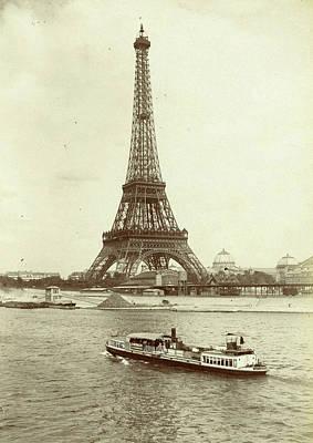 Eiffel Tower Drawing - Eiffel Tower, Paris, France, X by Artokoloro