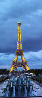 Featured Images Photograph - Eiffel Tower, Paris, Ile-de-france by Panoramic Images