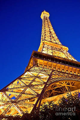 Eiffel Tower Paris Las Vegas Art Print