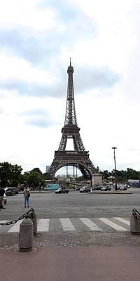 Eiffel Tower, Paris,ile-de-france Art Print by Panoramic Images