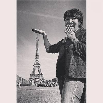 Icon Photograph - #eiffel #tower #popular #paris #icon by Mieke Cb