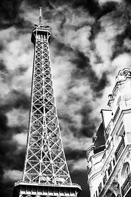 Photograph - Eiffel Tower Rising by John Rizzuto