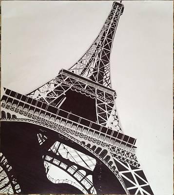 Eiffel Tower Original by Ryan Jirjis