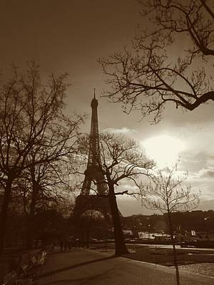 I'll Meet You At The Eiffel Tower Art Print