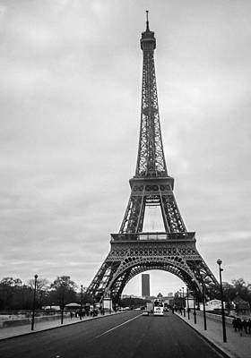 Eiffel Tower Art Print by Steven  Taylor