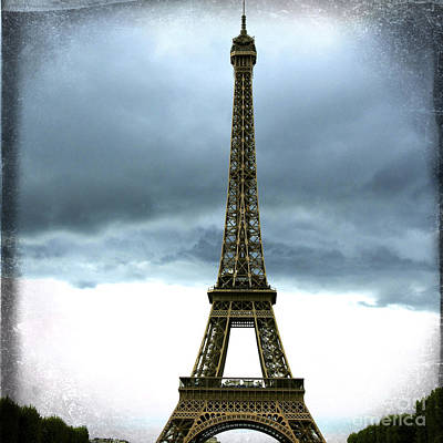 Eiffel Tower. Tour Eiffel. Paris Print by Bernard Jaubert