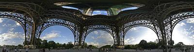 Eiffel Tower Unwrapped Art Print by Gary Lobdell