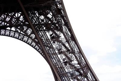Embellished Photograph - Eiffel Tower.paris by Bernard Jaubert