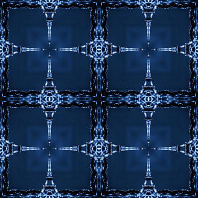 Abstract Patterns Photograph - Eiffelart 28 by Mike McGlothlen