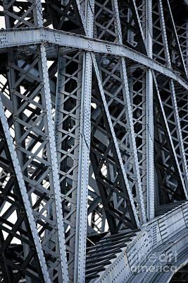 Photograph - Eiffel's Bridge by John Rizzuto