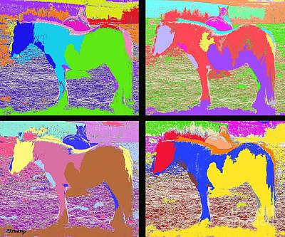 Eight Horses Art Print by Patrick J Murphy