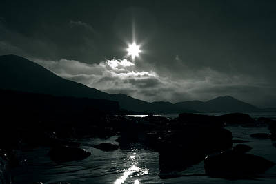 Irish Seascape Photograph - Eight Pointed Star  by Aidan Moran